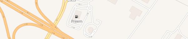 Karte Tesla Supercharger Falkenberg
