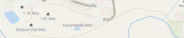 Karte Freizeitwelle Rötz