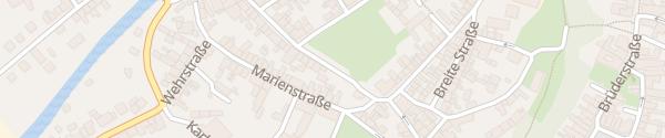 Karte Wehrdigtstraße Glauchau