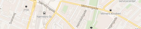 Karte E.ON DK Ladesäulen København