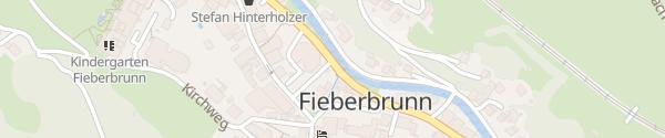 Karte Marktgemeinde Fieberbrunn