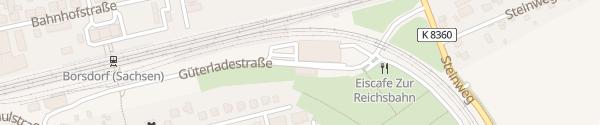 Karte Zweifeldsporthalle Borsdorf