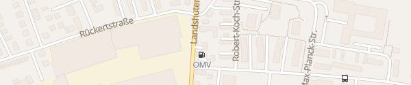 Karte OMV Tankstelle Straubing