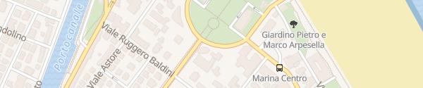 Karte Enel Drive Säule Rimini