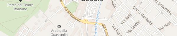 Karte Enel Drive Säule Gubbio