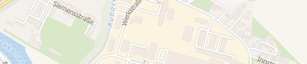 Karte strotög Strom Töging am Inn