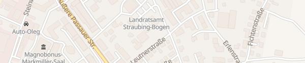 Karte Landratsamt Straubing