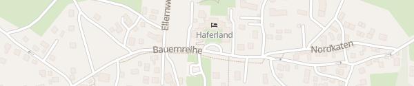 Karte Hotel Haferland Wieck