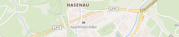 Karte Adler Resort Hinterglemm