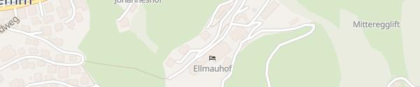 Karte Familienresort Ellmauhof Hinterglemm