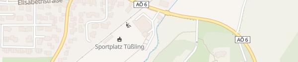 Karte E-Bike Station: Sportheim Tüßling Tüßling