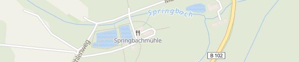 Karte Hotel Springbach-Mühle Bad Belzig