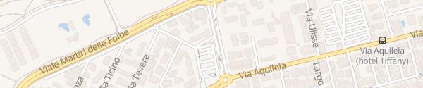 Karte P11 Parcheggio interrato di Piazza Internazionale Lido di Jesolo