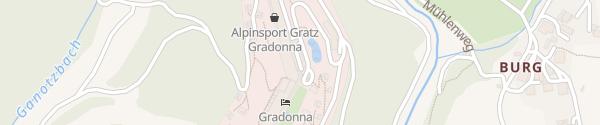 Karte Gradonna Mountain Resort Kals