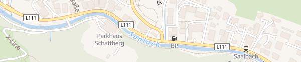 Karte Tourismusverband Saalbach