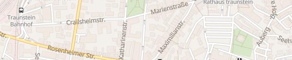 Karte Landratsamt Traunstein