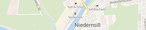 Karte Bahnhof Niedernsill