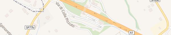 Karte Area di Servizio Frascati Ovest Frascati