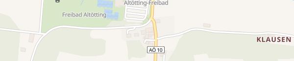 Karte E-Bike Station: Graminger Weißbräu Altötting