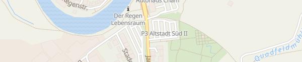 Karte E-Wald Ladesäule Freizeitpark Quadfeldmühle Cham
