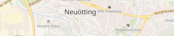 Karte Möhrenbachstraße Neuötting