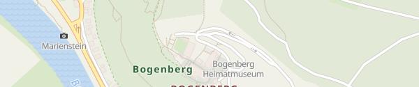 Karte Kreismuseum Bogenberg Bogen