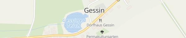 Karte Mittelhof Gessin Gessin