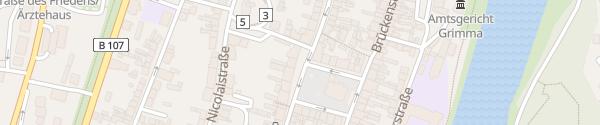 Karte Marktplatz Grimma