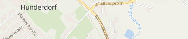 Karte E-Wald Ladesäule Busparkplatz Hunderdorf