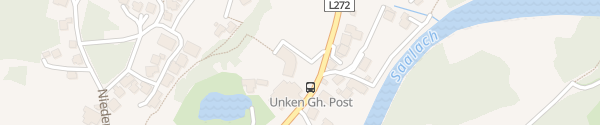 Karte Hotel Post - Family Resort Unken