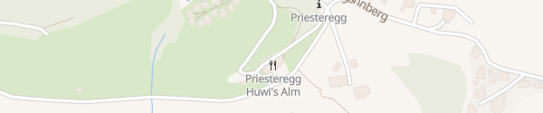 Karte Bergdorf Priesteregg Leogang
