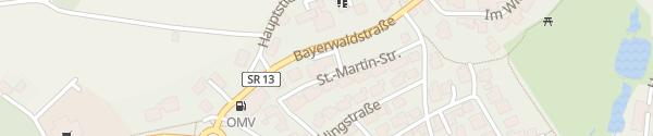 Karte Akzent Hotel Bayerwald Residenz Neukirchen
