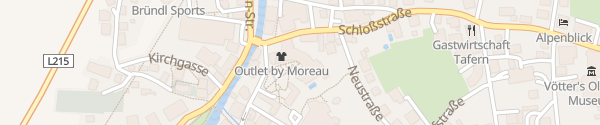 Karte Das Alpenhaus Kaprun