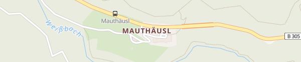 Karte Hotel Mauthäusl Schneizlreuth