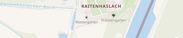 Karte E-Bike Station: Klostergasthof Raitenhaslach Burghausen