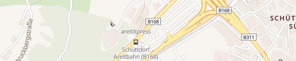 Karte AreitXpress Zell am See