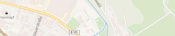 Karte Rathaus Schwarzenberg/Erzgebirge