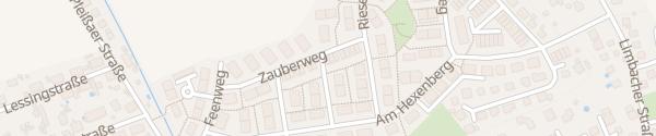 Karte Zauberweg Chemnitz