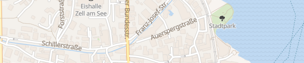 Karte Hotel Tirolerhof Zell am See