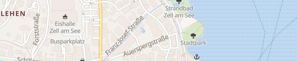 Karte Hotel Salzburgerhof Zell am See