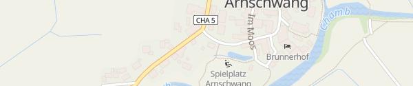 Karte E-Wald Ladesäule Arnschwang