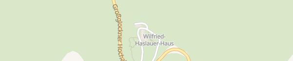 Karte Haus Alpine Naturschau Fusch an der Glocknerstraße