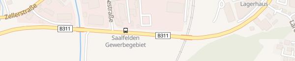 Karte ARBÖ Saalfelden am Steinernen Meer