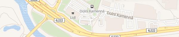 Karte McDonald's Karlovy Vary
