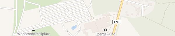 Karte Spargelhof Klaistow Beelitz