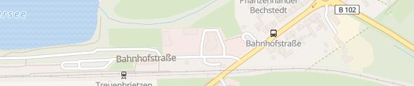 Karte Autohäuser Borchert + Kröger Treuenbrietzen