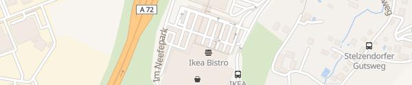 Karte IKEA Chemnitz