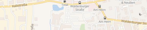 Karte Handwerkskammer Chemnitz