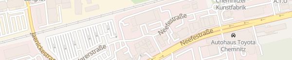"""Karte Geschäftshauses """"Solaris"""" Chemnitz"""