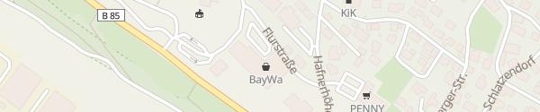 Karte Baywa Baumarkt Viechtach